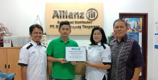 bukti klaim nasabah Allianz Life